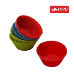 Silicone Muffin/Cake Cup (6 PCS/Set) (SP-SB001)