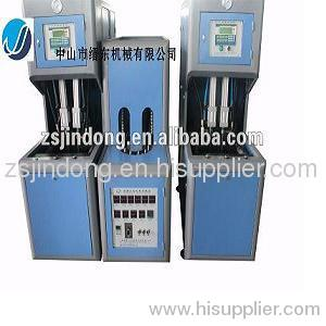 Computerized plastic bottle blowing machine