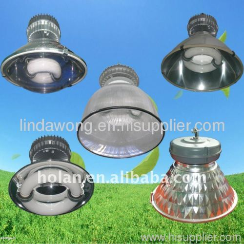 High bay light with low frequency induction light