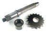 Push-In Output Shaft