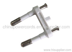 Two-pin plug insert 2.5A 250V