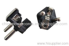 Two-pin plug insert 16A 250V