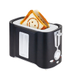Black Custom Logo Toaster