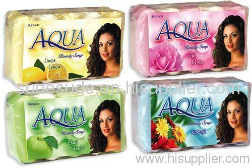 Beauty soap 5x75 gr ecpacks