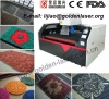 CO2 Laser Cutting Engraving Machine For Carpet Mat Rugs Blanket