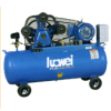 belt-driven air compressor