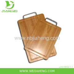 Picnic Time Circo Wooden Cheese board Set with Stainless steel Handle