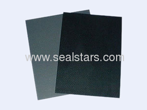 non asbestos gasket sheet with graphite coating