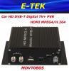 HD Car DVB-T Receiver With MPEG4+ PVR+HDMI