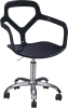 black PP Gas Lift Office Chair