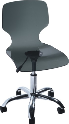 crystal Gas Lift Acrylic Office Chair