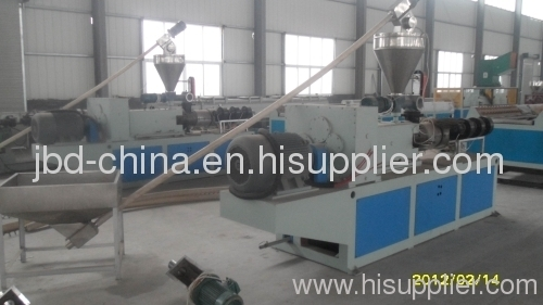 PP/PE/PVC wood plastic composite profile production line