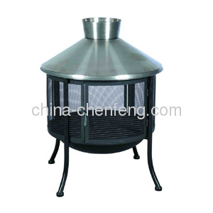 outdoor chimney fire pits