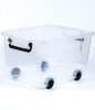 Plastic Storage Boxes With Wheels For Houshold Using
