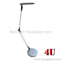 4U Flexible Arms LED Desk Lamp Brushed Grey