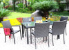 wicker patio furniture dinner sets