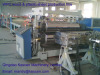 WPC wood plastic composite plate production equipment