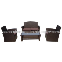 garden rattan furniture sofa sets