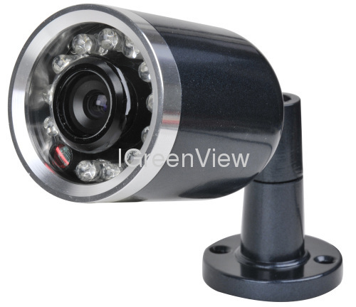 Mini bullet camera with infrared ray invisible