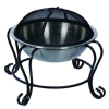 18 Inch Stainless Steel Fire Pit