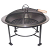 "30"" Outdoor Stainless Steel Fire Pit"