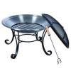 "29"" Portable Stainless Steel Fire Pit"