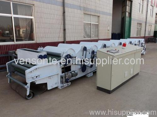 gm-400-6 textile waste /cotton waste recycling machine