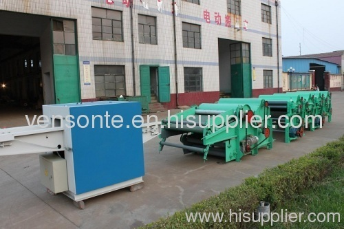 gm-410sf cotton waste /textile waste recycling machine