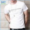 100% Cotton Breathable O Neck Short Sleeve T-Shirts