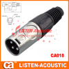 XLR male audio video cables Audio connector