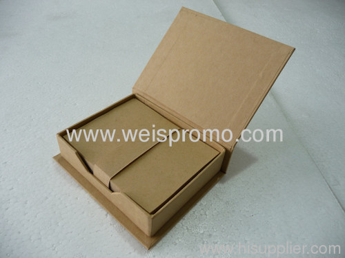 Promotion Eco-friendly memo pad box