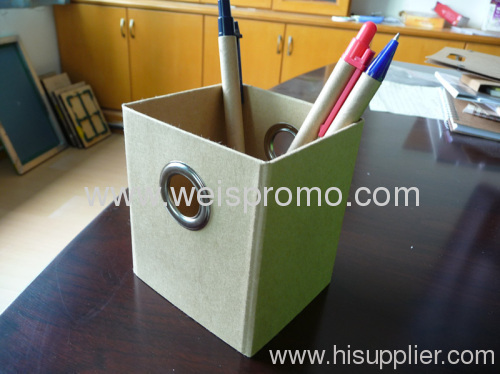 promotion Foldable Paper pen holder