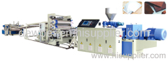 PE building template extrusion line