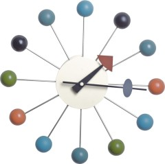 Modern Design art Wall Ball Clock Office room Decoration colorful white red wall clocks