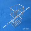 Square wire netting supply supermarket shelf