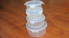 household container mould/thin wall box mould/transparent case