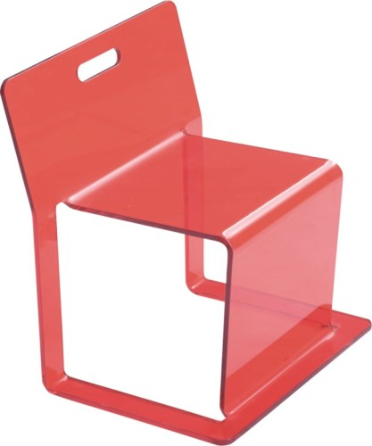 Modern Red plastic Side Kid's Seat children dining chairs living room furniture kids chairs