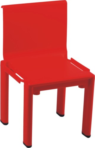 Steady Red Plastic Baby side Chair ergonomic dining room furniture children kids chairs