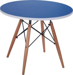 Durable wood tables children furniture round small table dining room desk