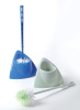 HQ1860 bathroom corner toilet brush with holder,sanitary toilet brush with bowl,WC brush with base