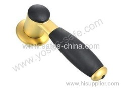 Fireproof Gun safe handles supplier with brass color