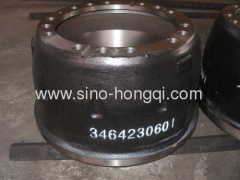 Bake drum for Mercedes BENZ 3464230601