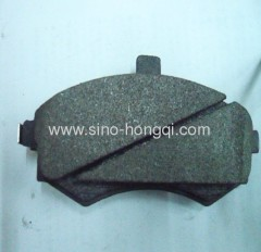 Brake pad 58101-2DA30 for Hyundai
