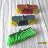 HQ0577R cheapest and best-seller plastic broom head,floor broom,hand broom for Indian market