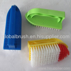 HQ8138 Indian market best-seller smart plastic scrub brush,PP hand laundry brush
