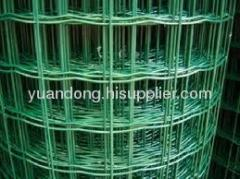 Holland wire mesh welded fencing security fence pvc garden fence