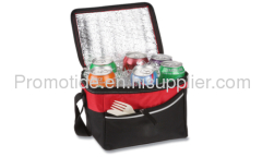 600D Polyester Six Can Cooler Bag