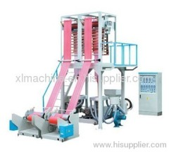 XL-60/70 Single-Screw Double Die Film Blowing machine Set
