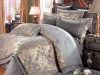 Fashion and Luxury European style bedding set(5pcs)