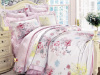 HOT Sale Fashion silk bedding set(4pcs)